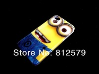 free shipping! 5 designs ultra thin Despicable Me light weight premier plastic skin case back cover for iPhone4 4s 4g