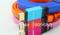 Free shipping 1.8M HD HDMI CABLE HDMI v.1.4 with Audio Return Channel and HDMI Ethernet Channel