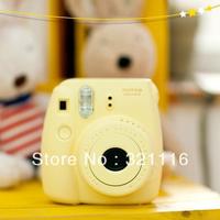 Free Shipping Fujifilm Fuji Instax Mini 8 Instant Film Photo Camera -Yellow