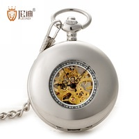 Pocket watch fashion brief exquisite pocket watch mechanical male women's mechanical watch