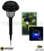 Solar lights plastic mosquito lamp solar lawn light outdoor garden lamp household mosquito killer lamp plastic