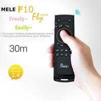 2.4GHz 3 in 1 Mele F10  Fly/Air Mouse + Wireless Keyboard + Remote Control, Wireless Keyboard, Wireless Air Mouse Free Shipping
