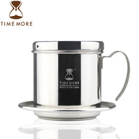 Timemore second generation pot drip coffee maker pressure pot method household 304 stainless steel trickling filter pot
