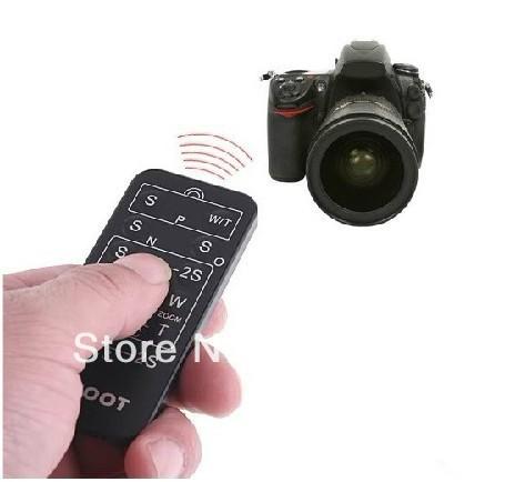 Wireless IR Universal Camera Remote Control For Canon Nikon Pentax(China (Mainland))