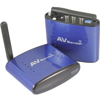 200M 5.8GHz ISM Wireless 4 Channel AV Audio Video Sender Transmitter Receiver for DVD/DVR/CCD camera/IP TV/satellite set top box