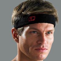 Lp661 basketball badminton tennis yoga ball fitness bandanas sports headband hair bands sweat absorbing towel flanchard