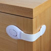 Multifunctional drawer lock child safety lock baby refrigerator lock safety lock cabinet lock toilet lock 5 1