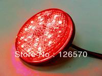 "Free Shipping 2"" Round LED Stop Brake Light for Harley Dyna Electra Road Glide Road King Softail Cruiser Chopper Custom Bike"