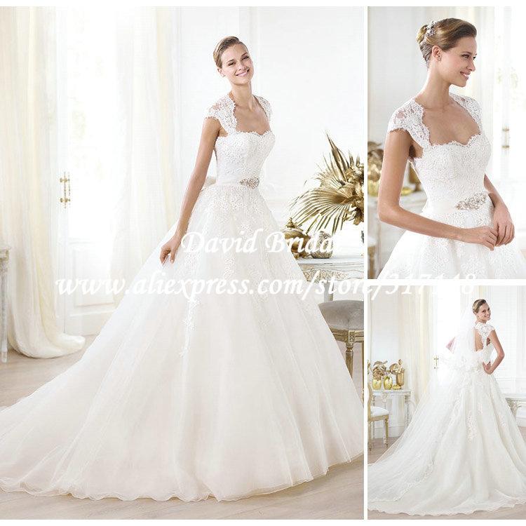 Ball Gown Wedding Dresses Open Back Ball Gown Wedding Dresses