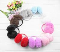 1Piece Fluffy warm Earmuffs U Pick New colorful Earmuffs Ear Warmers Ear Muffs Earlap Winter Warm Headband Best Quality