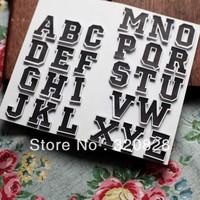 Free shipping Letter Stickers 300pcs/lot album Scrapbook Stickers Diy Decoration abc Alphabet Stickers memo pad making memory