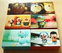 Festival Greeting Card Limited Edition Cartoon Doraemon Postcards Christmas Postal Card 50pcs/1box  5boxs/lot Free Shipping