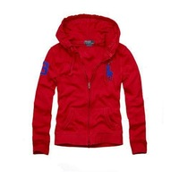 2013 new listed sell lots of polo sport leisure female jacket zipper