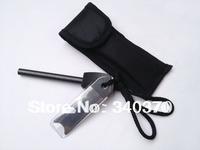 (8*80mm)12pcs/lot,Replacement Survival Magnesium Flint Stone Fire Starter
