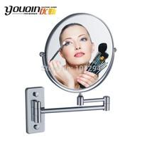 Bathroom copper double faced cosmetic mirror makeup mirror bathroom mirror 8inch