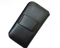 HKP ePacket Free Shipping Leather Pouch phone bags cases with Belt Clip for sony xperia v lt25 Cell Phone Accessories