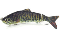 Fishing Lure 4 Segment Swimbait Crankbait Hard Bait Fresh Water Shallow Water Bass Walleye Crappie HS4 Fishing Tackle HS4X369