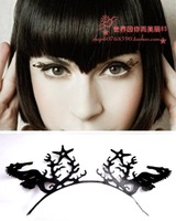 False eyelashes paper-cut interspersion false eyelashes small animal lips chinese style new arrival style false eyelashes