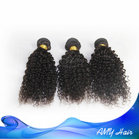 Peruvian kinky curly human hair kinky curly closure weave mix lengths 3pcs/lot Cheap peruvian kinky curly hair free shipping