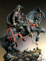 Free shipping resin figures model the roaming Knight, the fifteenth century