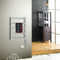 TR-28 58W stainless steel 5 tubes electric towel rack heater, Heated / heating towel rack ,make your towel warmer and dryer