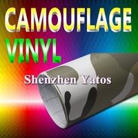 Camouflage Car Wrap Vinyl 1.52*30M Air Bubbles
