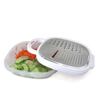 Multifunctional kitchen treasure shredder wire slicer stainless steel shavians