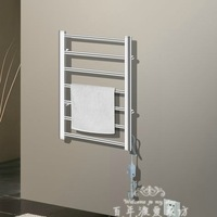 TR-33 72W stainless steel 7 tubes electric towel rack heater, Heated / heating towel rack ,make your towel warmer and dryer
