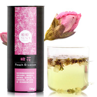 Herbal tea premium peach blossom dried peach tea canned 30g flowers