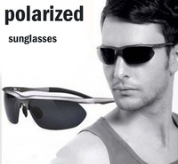 P3912 Super light outdoor fashion sunglasses men polarized sports,16.9$/pcs new alloy sunglasses men polarized 2013 driving