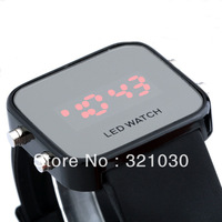 1PCS 12 Colors For Options,Fashion and high quality silicone jelly Led watch,Design A digital watch