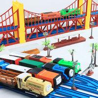 Electric thomas toy train set boy toy birthday gift