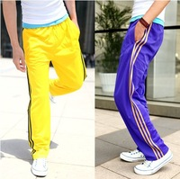 Free Shipping 2014 Latest New Style Men's Fashion Pants Active Casual Training Sunshine Pants Loose Sport Trousers Clothing