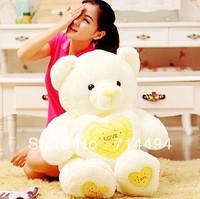 80cm Teddy Bears doll Plush toy doll large creative birthday gift female baby bear free shipping