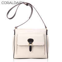 Women Messenger Bag Coraldaisy New  2013   Leisure Bump Color Bag Dual-use  Handbags  Fashiion Leather Bag