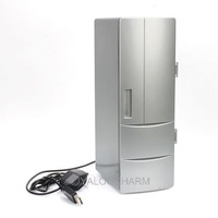 NEW  Mini PC/LAPTOP USB  Fridge Refrigerator Beverage Drink Can Cooler/Warmer 80634 HOT SALE !!!