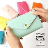 Hot Selling the Telephone the case new explosion models Korean Crown for Samsung i9300/for Apple phone bag / wallet / Clutch