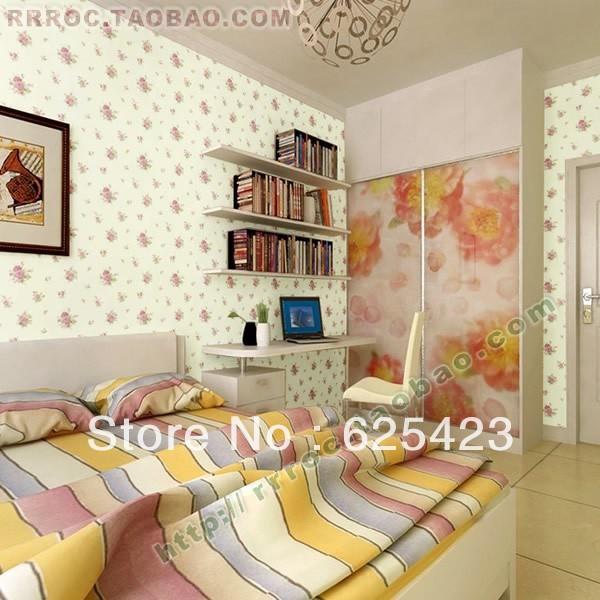 Online kopen wholesale behang bloem design uit china behang bloem design groothandel - Ontwerp wandbekleding ...