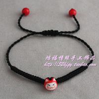 [Free Shipping]Red string lucky cat bracelet lovers bracelet