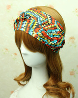 Colourful Striped Woman's Accessories  Headwear For GIrl  Kink Headbands