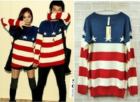 Supply factory direct export trade of the original single new winter men and women can wear a striped sweater AA20885