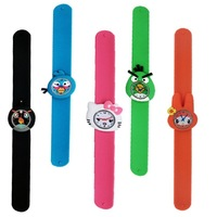 Child table cartoon ring pops watch birthday gift table battery backup