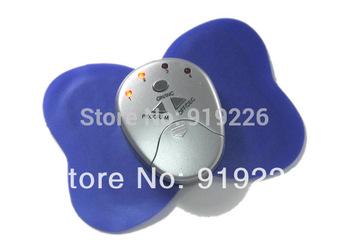 2pcs/lot Mini Electronic Body Muscle Purple Butterfly Massager Slimming Vibration Fitness Free Shipping
