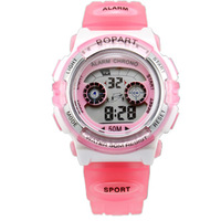 Child electronic multifunctional belt luminous waterproof multi-color colorful watches