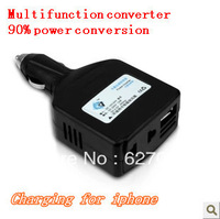 Car Power Inverter Converter Converter 12/24V Car turn 220 converter USB free shipping