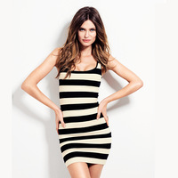 Womens cute sexy high elastic dress with stramp decoration for freeshipping and wholesale
