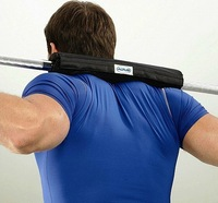 High quality weight lifting rod set barbell pad shoulder pad neck sports protective gear