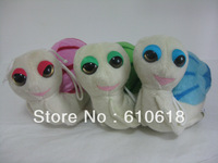 Free Shipping 3Pcs/Lot 15cm Snail Doll Mini Cell Phone Bag Pendant Keychain Figure Cartoon Plush Stuffed Toy Gifts