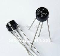 Free shipping rectifier 2W10 KBPC2512 rectifier diode bridge rectifiers round bridge 2a 1000v