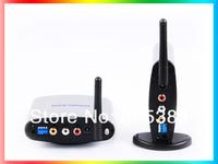 New 150M 2.4G Wireless A/V TV Audio Video Transmitter & Receiver PAT-220 IR Remote Extender